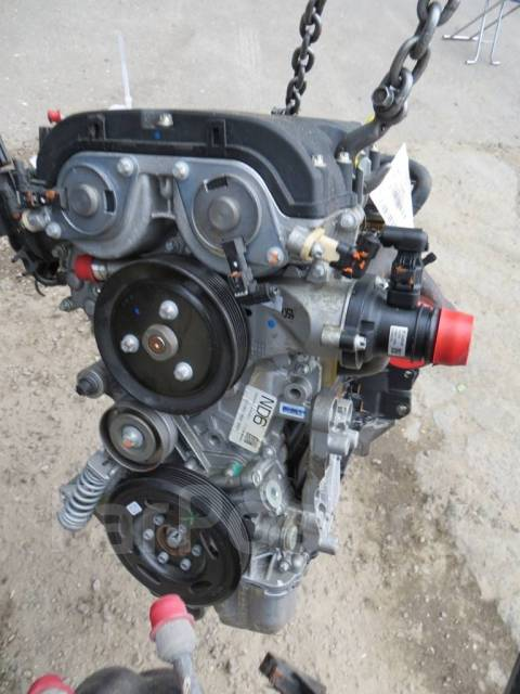 Новый двигатель без навесного 1.4B A14XEL на Opel