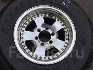 Запасное колесо 265/70R16 на литье R16 6x139.7 Work Made in Japan. 8.0x16 6x139.70 ET-25 ЦО 110,1мм.