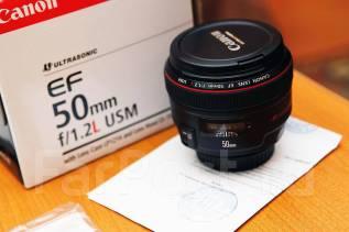 Продается Canon EF 50mm f/1.2L USM. Для Canon, диаметр фильтра 72 мм