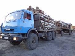 Камаз 43114. Хороший лесовоз, 10 850 куб. см., 8 000 кг.