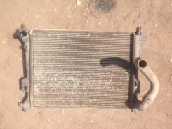 Радиатор охлаждения двигателя. Hyundai i20, PB Двигатели: G4LA, G4FA
