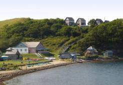 Продается база отдыха, бухта Круглая-5, в 4,5 км от п. Славянка. П.Славянка, бухта Круглая, р-н п.Славянка, 1 000 кв.м. Вид из окна