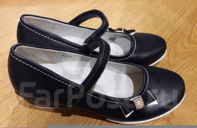 e16d2af75 SALE Туфли школьные на танкетке 30, 31, 32, 34 Синий - Детская обувь ...