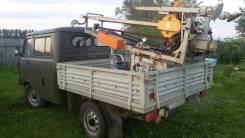УАЗ 39094 Фермер. Буровая установка УБШМ 1-20 на базе УАЗ