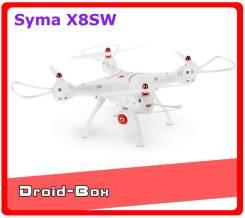 Syma X8SW квадрокоптер с WiFi, HD камерой и барометром. Новинка 2017 г