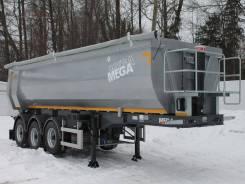 MEGA. Продается новый самосвальный полуприцеп 28 куб. м, 32 370кг. Под заказ