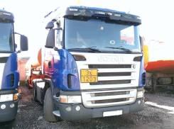 Scania. Сцепка (бензовоз) тягач седельный skania g380, полуприцеп цистерна бцм
