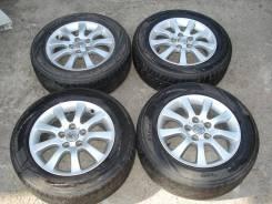 Колеса Toyota Windom MCV30 Bridgestone Playz RV 215/60/R16 5x114. 6.5x16 5x114.30 ET35 ЦО 60,0мм.