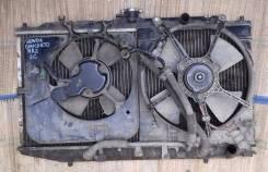 Вентилятор радиатора кондиционера. Honda Concerto, MA2 Двигатель ZC