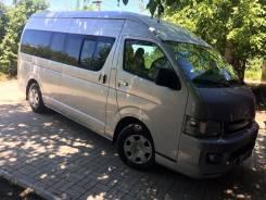 Услуги микроавтобуса Тойота Хайс с водителем