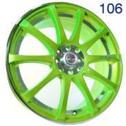 Sakura Wheels. 7.0x17, 4x100.00, 4x114.30, ET40, ЦО 73,1мм. Под заказ