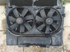 Вентилятор радиатора кондиционера. Mercedes-Benz S-Class, W140