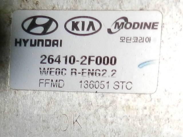Компрессор кондиционера. Hyundai ix35 Hyundai Tucson Hyundai Santa Fe Kia Sorento Kia Sedona Kia Carnival Kia Sportage, SL Двигатели: D4FD, D4HA, G4FD...