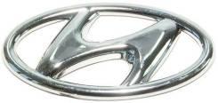 Эмблема решетки. Hyundai Accent