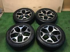 """Комплект колес зима Subaru Forester 2013г диски Enkei Blizzak. 7.0x18"""" 5x100.00 ET48"""
