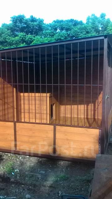 Вольеры, будки для собак