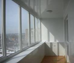 Отделка балконов внутренняя и наружная.