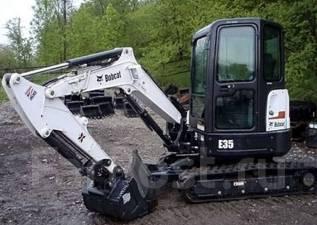 Bobcat E35. Мини-экскаватор