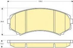 Колодка тормозная дисковая. Mitsubishi Pajero, V83W, V93W, V87W
