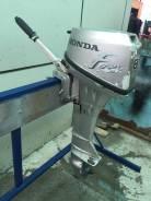 Honda. 8,00л.с., 4-тактный, бензиновый, нога L (508 мм), Год: 2005 год
