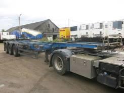 Schmitz S.CF. Полуприцеп контейнеровоз Schmitz SCF 24G низкорамный, 2005, 33 320 кг.