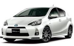 Губа. Toyota Aqua