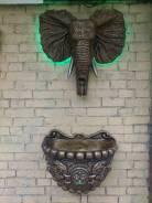 Настенные фонтаны, скульптуры, колонны