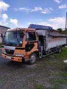 Nissan Diesel UD. Продается грузовой с гидроманипулятором с пультом д/у, 7 000 куб. см., 5 000 кг., 5 м.