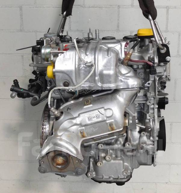 Новый двигатель 1.2B H5F 402 на Dacia без навесного