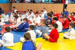 Проводится набор в спортивные группы по борьбе самбо и дзюдо