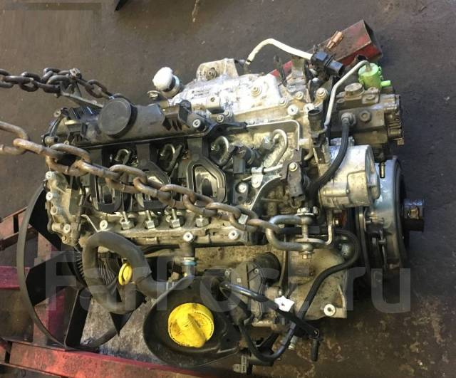 Двигатель голый 2.3D M9T692 на Opel Movano