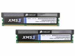 Оперативная память Corsair XMS3 [CMX4GX3M2A1600C9] 4Gb (2x2GB)