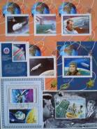 """""""Космос"""" набор блоков марок."""