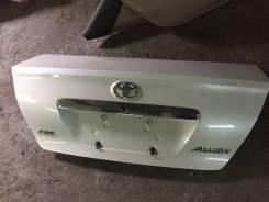 Крышка багажника. Toyota Allion, AZT240, NZT240, ZZT240, ZZT245 Двигатели: 1AZFSE, 1NZFE, 1ZZFE