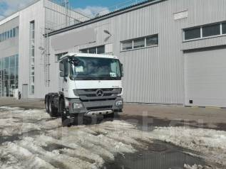 Mercedes-Benz Actros. Тягач 6х6 односкатный 460 л. с, 12 000 куб. см., 20 000 кг.