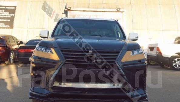 Обвес кузова аэродинамический. Lexus LX570, SUV, URJ201, URJ201W Двигатель 3URFE