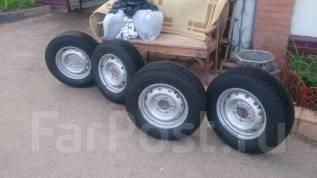 Шины Bridgestone Blizzak Revo GZ 205/70 R15 96S. 6.0x15 5x139.70 ET40