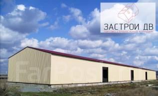 Ангары, склады, с/х здания по технологии ЛСТК