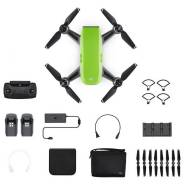 Маленький, Доступный! Квадрокоптер DJI Spark Fly More Combo Green.