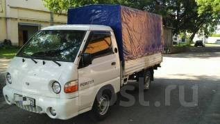 Hyundai Porter. Хуандай Портер, 2 500 куб. см., 1 000 кг.