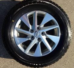 Колеса в сборе (зима липучка) тойота Toyota. 6.5x16 5x114.30 ET33 ЦО 60,1мм.