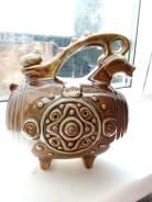 Графин-кувшин глиняный антикварный, СССР. Оригинал