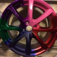 Ремонт и порошковая покраска автомобильных дисков в Колпино