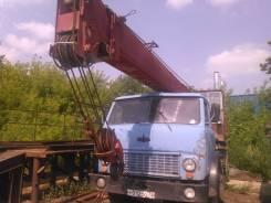 МАЗ Ивановец. Автокран Ивановец на шасси МАЗ, 3 000 куб. см., 12 000 кг., 14 м.