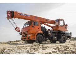 Камаз 43253. КС 35719-1-02 автокран 16т. (Камаз-43253), 16 000 кг., 18 м.