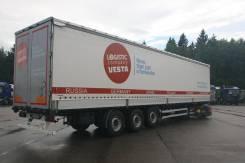 Kassbohrer. Полуприцеп Kaessbohrer, 39 000 кг.