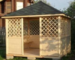 Беседки для дачи деревянные