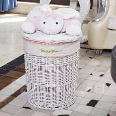 Плетённая корзина с игрушкой. Под заказ