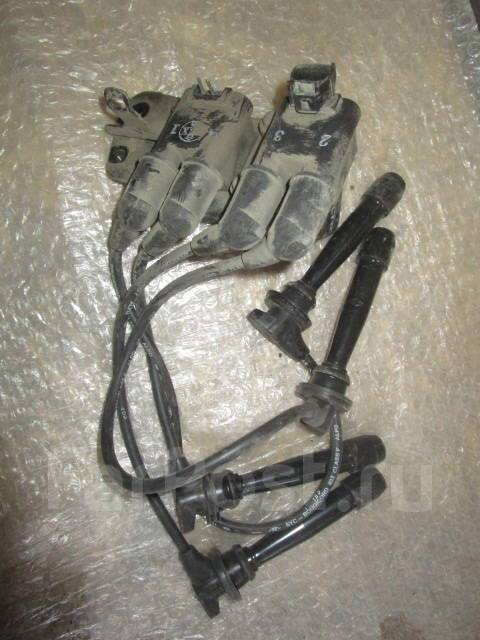 Катушка зажигания и трамблер. Hyundai: Lantra, Matrix, Accent, Elantra, Getz, Avante, Lavita, Coupe, Verna, Click Двигатель G4ECG
