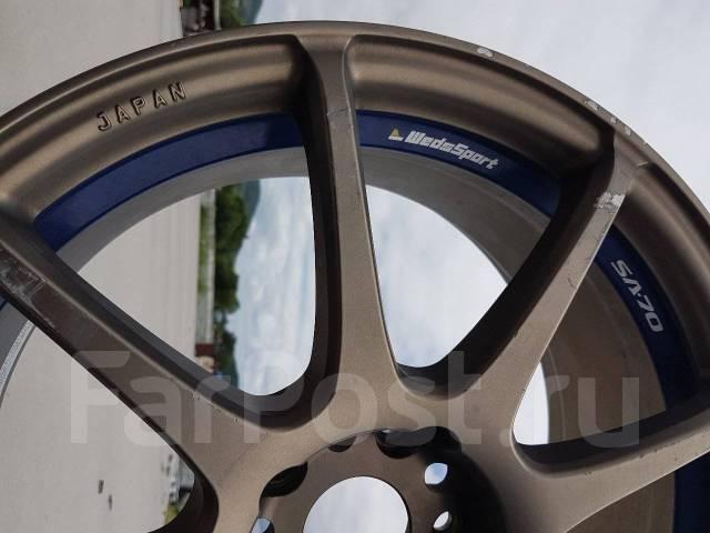 Weds Sport SA-70. 8.0x18, 5x114.30, ET36